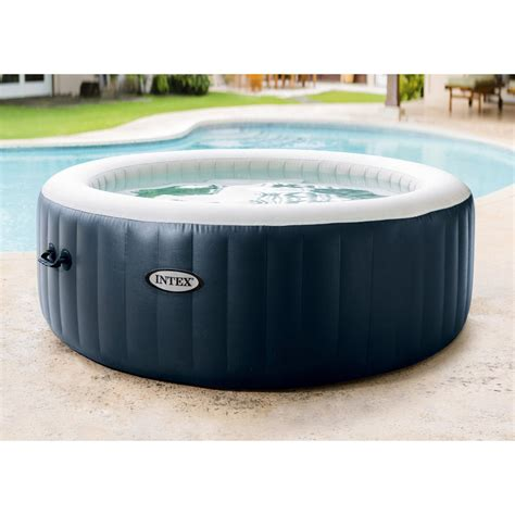 Spa Intex 6 Places 5147 by Spa Gonflable Intex Purespa Bulles Blue Navy Rond 6