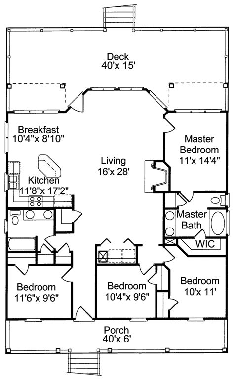 beach cabin floor plans small cottage house plans cottage house plans