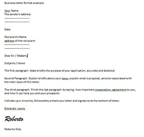 basic layout of a business letter best photos of basic business letter sle modified