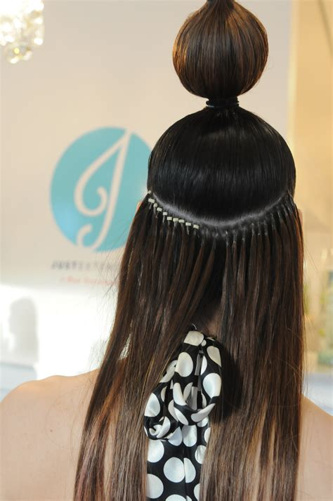 Micro Weft Hair Extensions Melbourne Om Hair