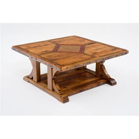 Mustang Canyon 48 X 48 Coffee Table Green Gables 48 Coffee Table