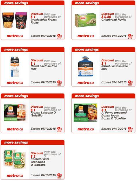 printable grocery coupons quebec metro quebec printable store coupons october 1 to october