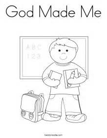 God Me Coloring Pages god made me coloring page az coloring pages