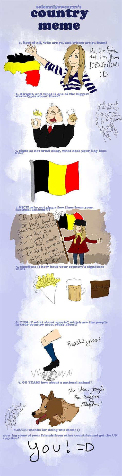 Belgium Meme - country meme belgium by weasley achemist93 on deviantart