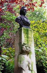 chopin statue and concert festival in jardin du luxembourg