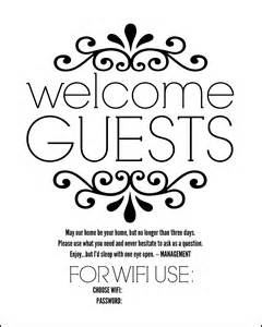 Guest Bedroom Wifi Sign Diy Guest Room Basket With Free Printable Sign