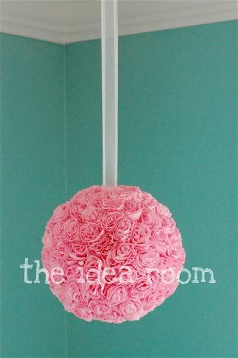 How To Make Crepe Paper Flower Balls - 1000 ideas about paper flower on crepe