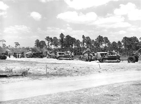 Highlands County Fl Court Records Florida Memory Construction Of Road 25 Highlands County Florida