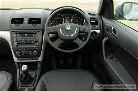 skoda yeti interior images skoda yeti owners club