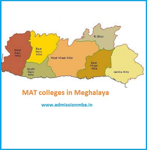 Mat For Mba In India by Mba Colleges Accepting Mat Score In Meghalaya Mat Colleges