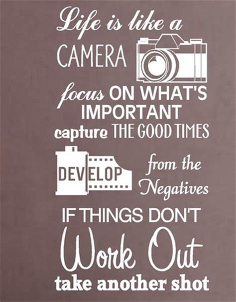 film camera quotes aliexpress com buy camera vinyl wall decal life is like
