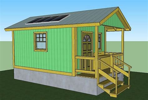 Krissy Cabin Bed by Quixote Cottage Plans Simple Solar Homesteading Tiny