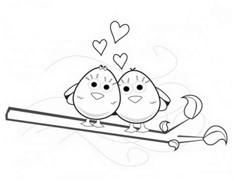 coloring pictures of lovebirds spring love birds coloring pages free 587545 171 coloring