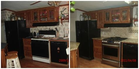 Mobile Home Kitchen Makeover by Great Manufactured Home Kitchen Remodel Ideas