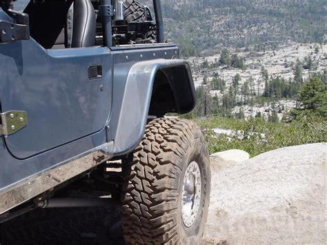 Jeep Wrangler Tj Armor Tnt Customs Corner Armor 6in Flare Jeep Wrangler Tj