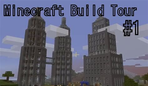 Cabin Blue Prints minecraft 360 build tour ep 1 skyscrapers youtube