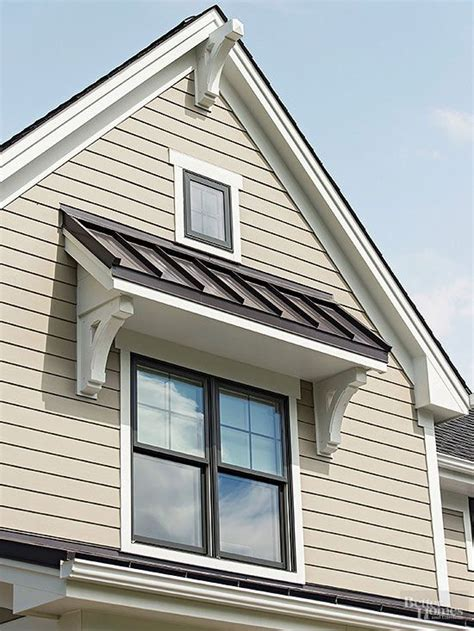 Outside Window Awnings Home by Here S How To The Best Garage On The Block Metal Roof Curb Appeal And Facades