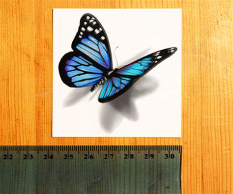 imagenes de mariposas realistas tatuaje de mariposa 3d 187 mamiquierouno commamiquierouno com
