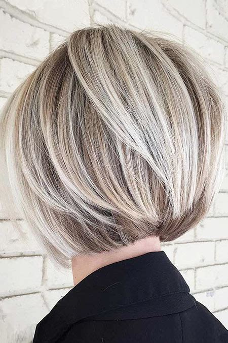 hair styles that are short and layerd with purple die in it short layered bob hairstyles will trending in 2018 hairiz