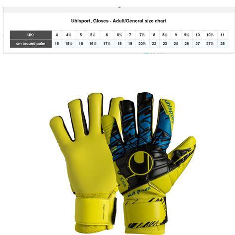 misure guanti portiere guanti da portiere uhlsport speed up now soft hn comp uomo