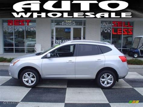 silver nissan rogue 2009 2010 silver ice nissan rogue s 25062975 gtcarlot com