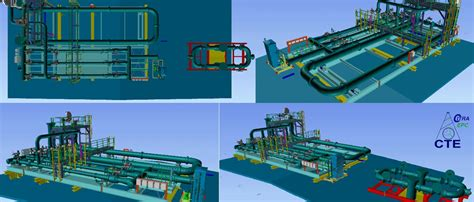 3d design engineering indonesia 3d model of projects pt citra tubindo engineering cte