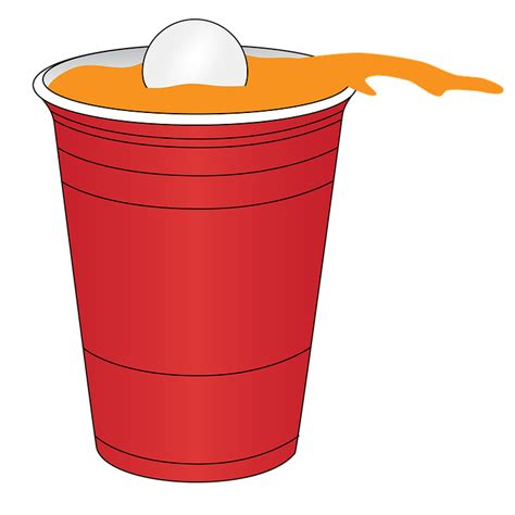 beer cartoon transparent beer pong red 183 free image on pixabay