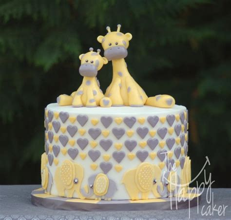 25 best images about giraffe cakes on baby