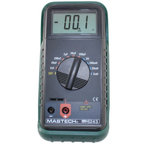 inductance tester schematic mastech lc meter digital capacitance inductance tester csi6243 ebay