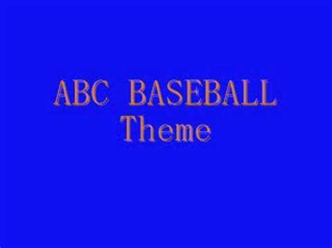 theme songs baseball mlb cbs theme 1990 1993 doovi