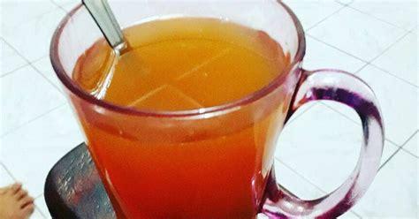 resep minuman lemon jahe kayu manis madu enak