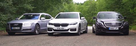 Price Comparison Bmw Audi Mercedes by Bmw 7 Series Vs Mercedes S Class Vs Audi A8 Video Group