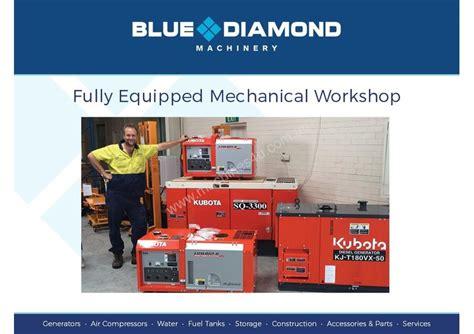 new 2017 blue 13kva diesel generator 240v solar