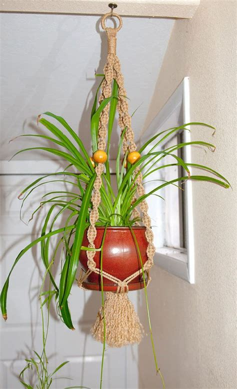 Outside Plant Hangers - macrame plant hanger for indoor outdoor awesome plant