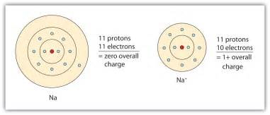 Charge Of A Proton And Electron Ions