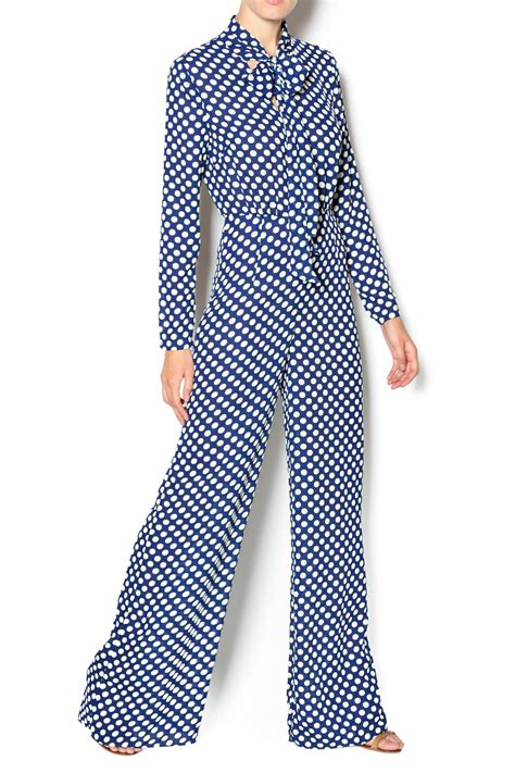 Dot Walter aakaa polka dot jumpsuit from florida by walter green shoptiques