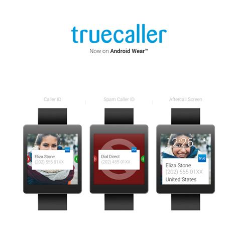 android wearable truecaller launches on android wear with live caller id and spam blocking features