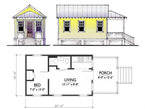 tiny cottage floor plans cheap house home striking