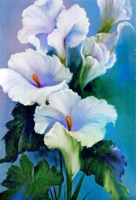 bob ross painting flowers bob ross floral packet calla lilies floral packets