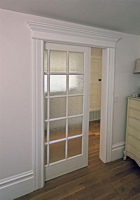 Glass Panel Interior Door Ideas Awesome Pocket Doors Design Inspiration Presenting Glass Door Panels With White Wooden Door