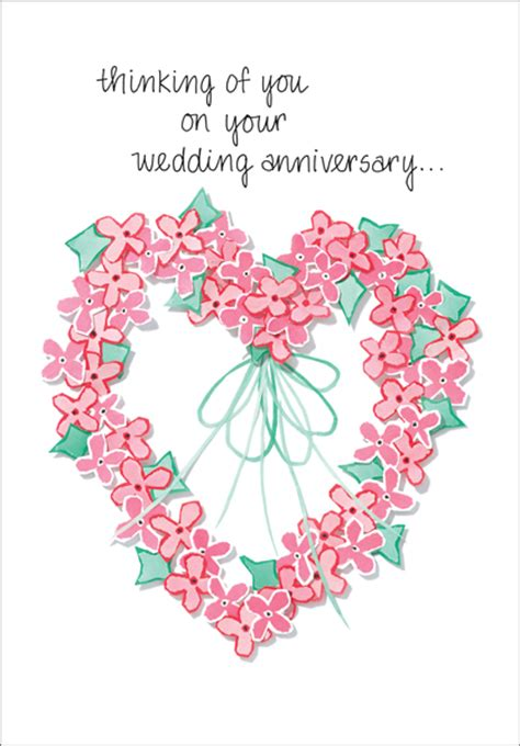 Wedding Anniversary After Of Spouse by Anniversary Of Wedding Anniversary Cards It Takes Two Inc