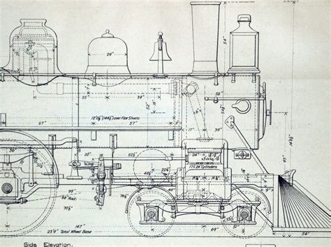 pattern development technical drawing 1893 poster sized antique engineering drawing of an eight