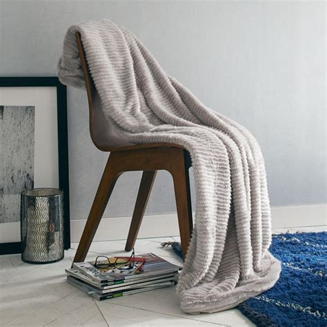 Faux Fur Chair Throw by 10 Cozy Rooms Filled With Texture