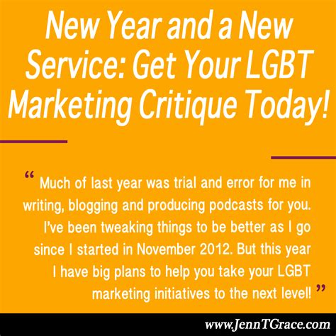 new year in today new year and a new service get your lgbt marketing