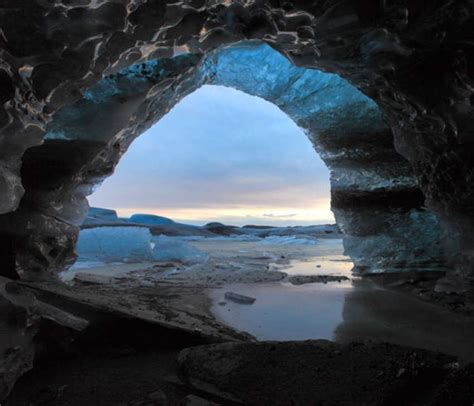 crystal cave iceland wordlesstech blue crystal ice cave