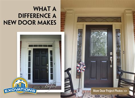 Replacing A Exterior Door Entry Doors Replacement Door Contractor Patio Doors Atlanta Exovations