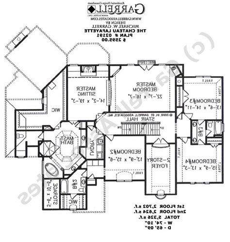french chateau floor plans french chateau house plans photos