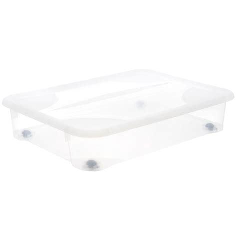 bac rangement sous lit table rabattable cuisine bac de rangement sous lit