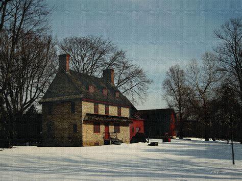 William Brinton House 1704 By Gordon Beck