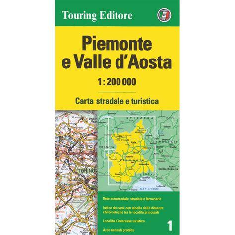 piemonte on line piemonte e valle d aosta 1 200 000 landkartenschropp de